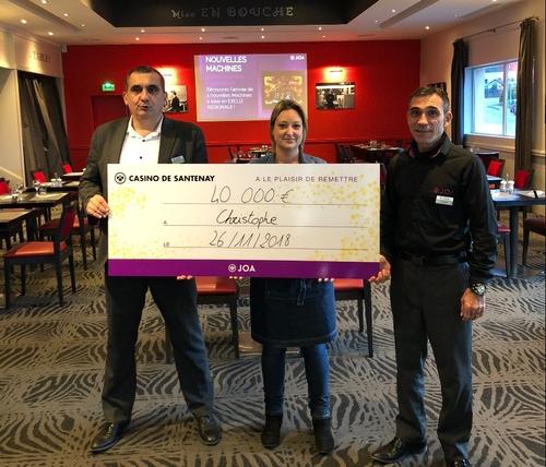 48 000 euros remportés au Casino de Santenay