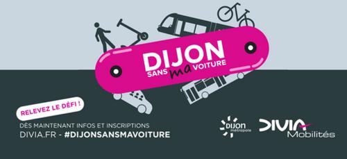 « Dijon sans MA voiture » , c'est parti!