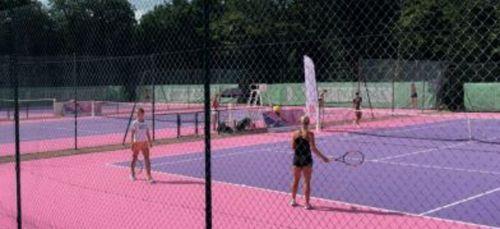 Début de l'Open de tennis de Bourgogne-Franche-Comté