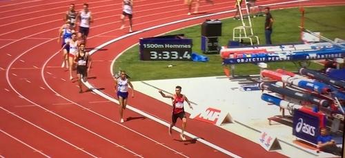 Athlétisme: Alexis Miellet a encore frappé !
