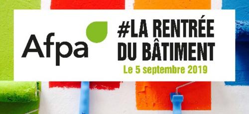 Le 5 septembre, c'est la #Rentrée du Bâtiment !