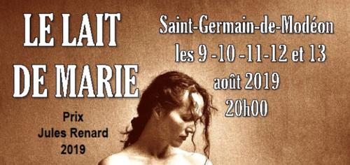 Le lait de Marie, Prix Jules Renard, sera présenté dans le Morvand...