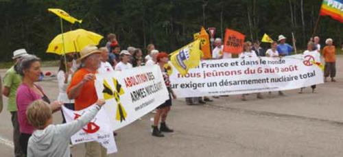 Côte-d'Or : Les manifestations contre le nucléaire battent leur plein