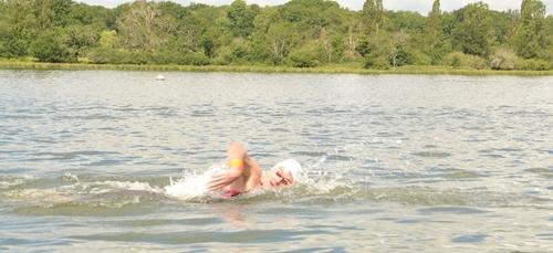 Une descente de la Saône à la nage