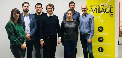 6 nouvelles start-ups au « Village by CA » de Dijon