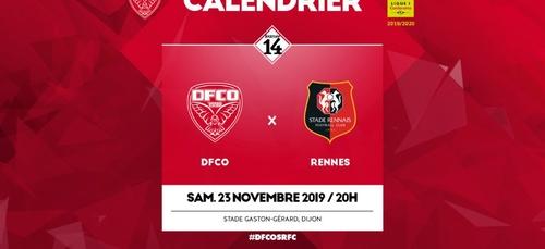 K6FM VOUS INVITE AU MATCH DFCO / RENNES