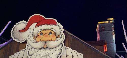 Le père Noël attendu ce mardi soir devant la mairie de Dijon