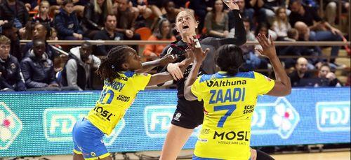 La JDA Dijon Handball s'incline face aux championnes de France