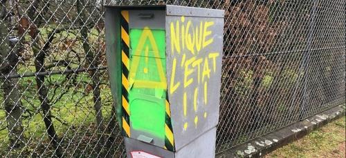 Le radar de la rue de Sully de nouveau dégradé