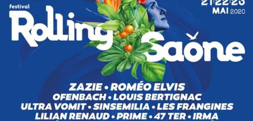 Annulation de la quatorzième édition du festival Rolling Saône