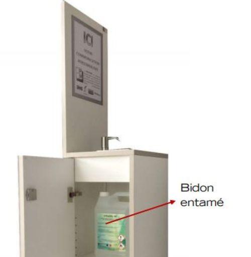 Une autre solution de distribution de gel hydroalcoolique