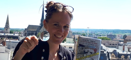 Un livre pour redécouvrir le centre-ville de Dijon de manière...