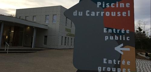 Piscine du Carrousel : les nouveaux aménagements extérieurs...