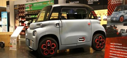 La voiture électrique « Citroën Ami » sera proposée au Darty de la...