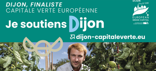 Capitale verte européenne: Il est encore temps de soutenir Dijon