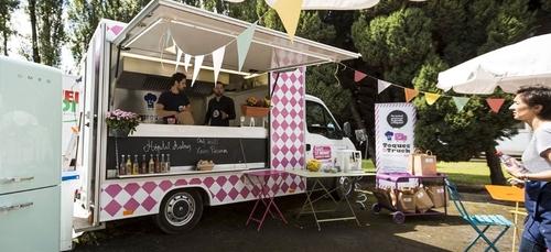 Un food-truck pour les enfants malades du cancer aujourd'hui à Dijon