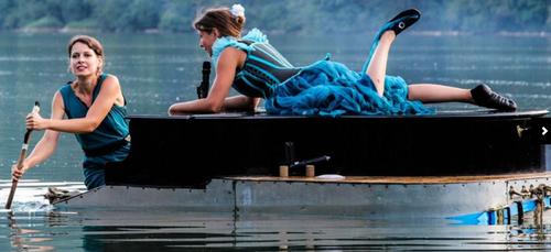 """Le Piano du lac présente son spectacle """"MELTING FLOTTE"""" ce soir et..."""
