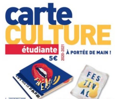 La carte culture étudiante est reconduite