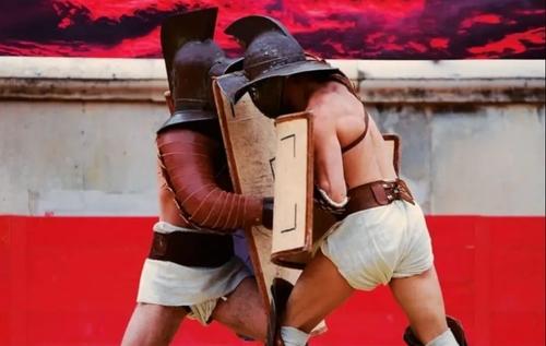 Qui veut affronter un gladiateur ce dimanche?