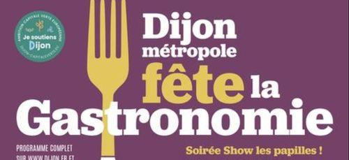 La fête de la gastronomie débute la semaine prochaine à Dijon
