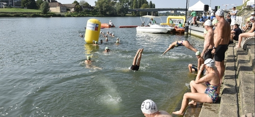 Deux manches de Coupe de France de nage en eau libre ce week-end en...