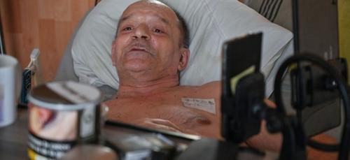 Alain Cocq a finalement accepté de bénéficier de soins palliatifs