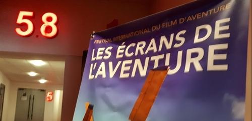 Festival « les Ecrans de l'aventure » : un peu de public quand même...