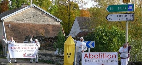 Les anti-nucléaires ne lâchent rien en Côte d'Or