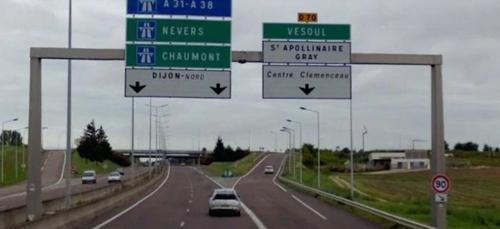 A38: Fermeture prochaine des accès depuis Fontaine d'Ouche et à...