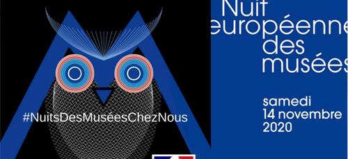NUIT EUROPÉENNE DES MUSÉES CE SAMEDI 14 NOVEMBRE 2020