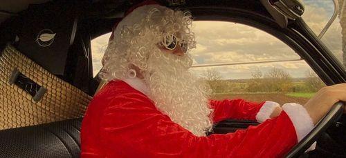 On a retrouvé le père Noël, il se prépare en Bourgogne !