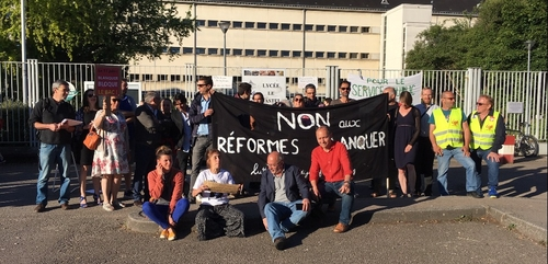 Manifestation ce vendredi à Dijon pour la défense et le maintien du...