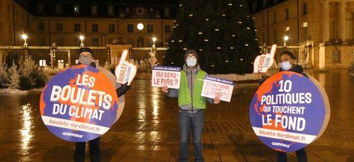 A Dijon, Greenpeace entre en campagne pour élire « les pires...