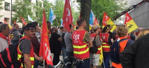 Nouvelle manifestation ce mardi à Dijon des « oubliés du Ségur de...