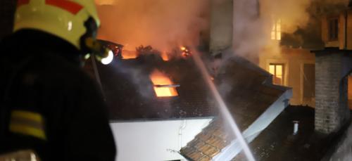 L'enquête se poursuit après l'incendie de la rue du Bourg