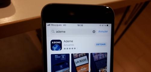 Une application mobile pour l'ADEME de Bourgogne-Franche-Comté