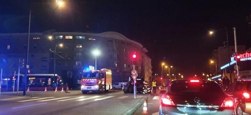 Impressionnant accident près du boulevard des Bourroches