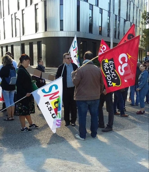 Une manifestation dans l'éducation nationale en Côte d'Or annoncée...