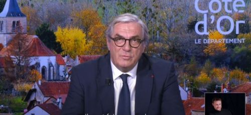 François Sauvadet présente ses vœux dans une vidéo
