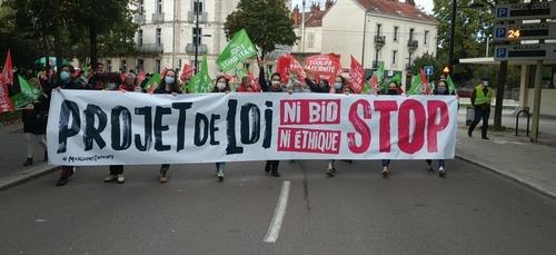 Une manifestation ce dimanche à Dijon contre le projet de loi...
