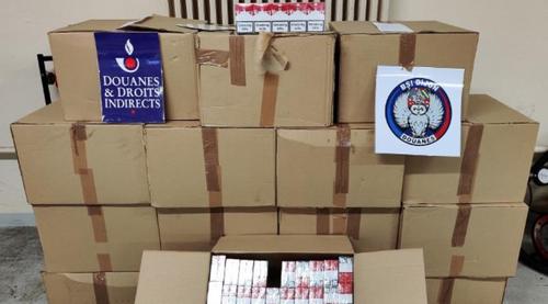 160 kg de tabac saisis par les douanes de Dijon