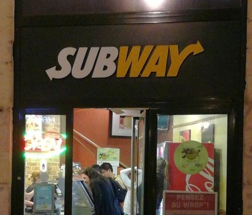 L'enseigne Subway réagit après la manifestation de L214 samedi à Dijon