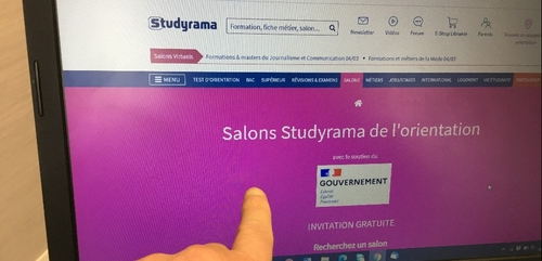 Trois salons Studyrama de Dijon proposés en ligne le 20 mars