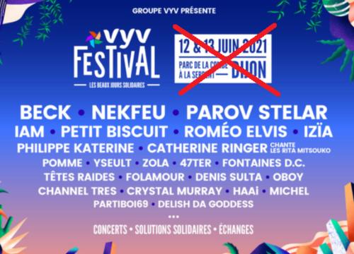 Musique: VYV Festival reporté en septembre
