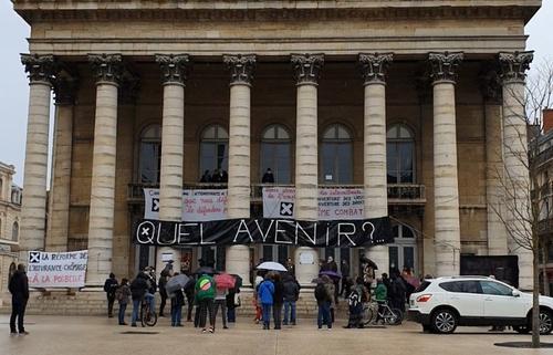 Rencontre vidéo avec les occupants du Grand Théâtre de Dijon