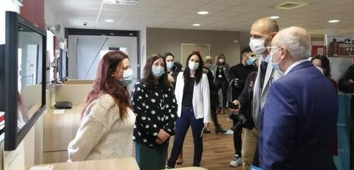 Le préfet était en visite à l'agence Pôle emploi de Dijon ouest