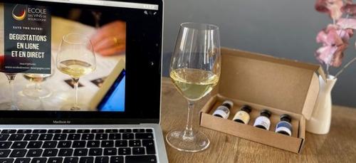 L'Ecole des vins de Bourgogne propose des cours en ligne et en direct