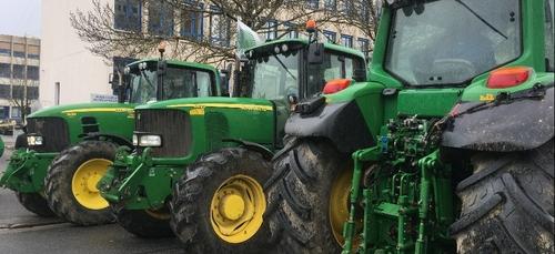 Les agriculteurs manifestent ce mardi sur Dijon