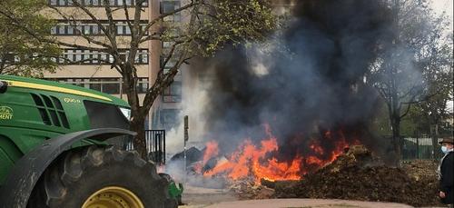 Des violences et des dégradations pendant la manifestation des...