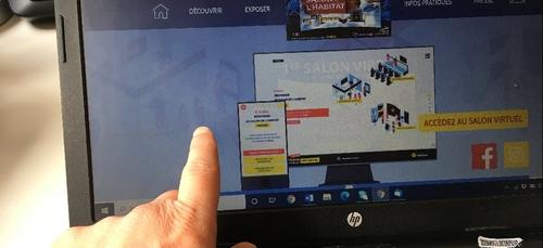 11 500 internautes ont participé au salon virtuel de l'habitat de...